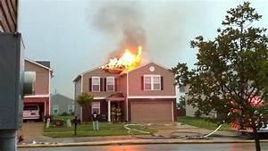 Lightning House Fire