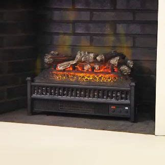 duraflame electric fireplace insert lowes comfort smart 23 in electric fireplace insert log set