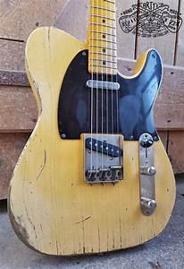 Broadcaster Butterscotch Blonde Telecaster Heavy Relic