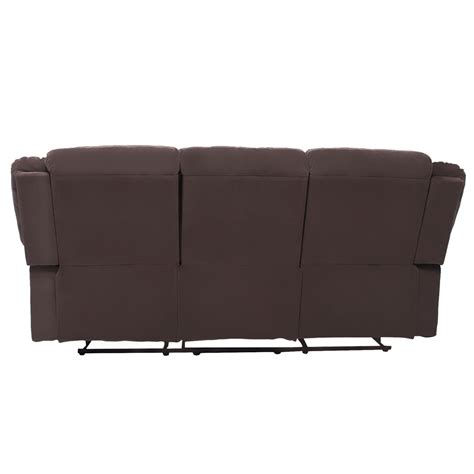 3 Seat Recliner Sofa Covers by Manual Recliner 3 Seat Sofa Chair Slipcover Home Ergonomic