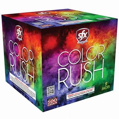Sfx Fireworks Rush Launch Consumer Announcing Premium