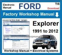ford workshop manuals