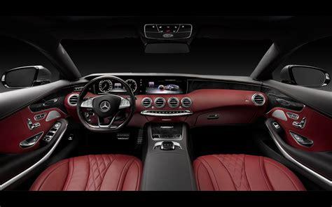 mercedes benz  class coupe interior