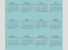Calendário 2018 Online