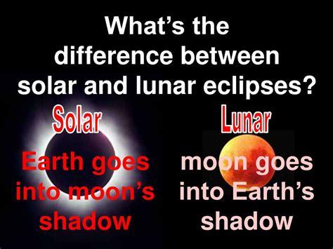 solar  lunar eclipses powerpoint    id