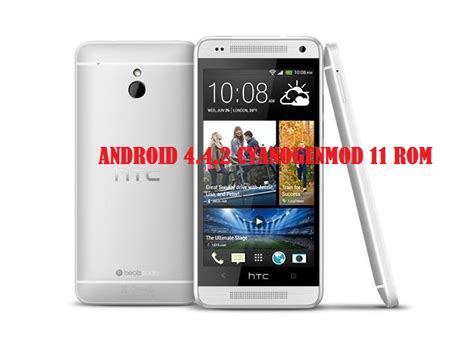 htc one 11 update htc one mini to android 4 4 2 kitkat via cyanogenmod 11 rom