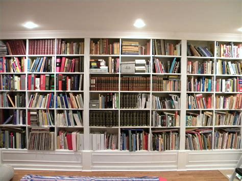 Full Wall Bookcases, Home Library Designs Shelves English
