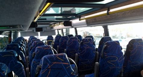 Do All Mega Buses Bathrooms by Striking A For Transport With Megabus