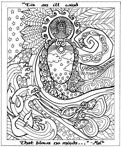 detailed adult coloring books fractal coloring pages bestofcoloring com