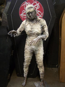 queen nefertiti mummy standing body dapper cadaver props