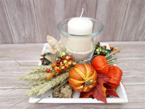 Herbstdeko Fenster Diy by Jahreszeitentisch Tischdeko Herbst Windlicht Herbstdeko