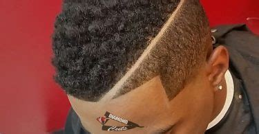 curly fade mohawk haircut