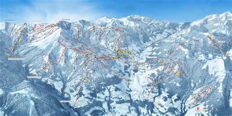 st gervais mont blanc gervais mont blanc plan des pistes de ski gervais mont blanc
