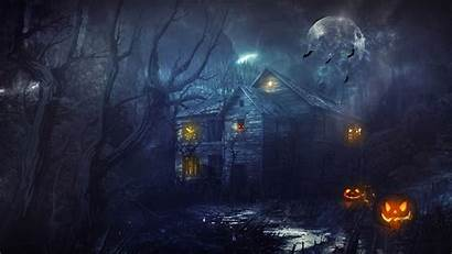 Halloween Scary Backgrounds Wallpapers Designbolts Stencils Carving