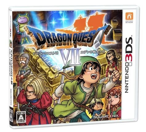 New Dragon Quest Vii Information For Nintendo 3ds Arrives