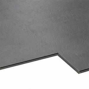 Dalle Pvc Cuisine : dalle pvc clipsable gris styling aero city leroy merlin ~ Premium-room.com Idées de Décoration