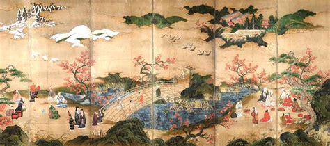 pintura japonesa estilo de la escuela kano pintura