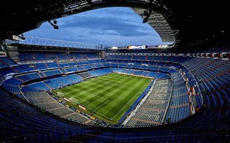 Download wallpapers Santiago Bernabeu Stadium, 4k ...