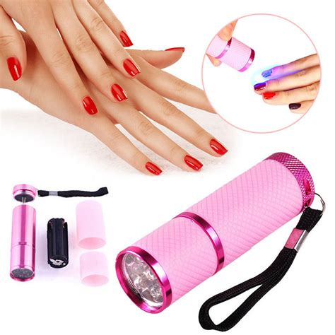 uv l for nails pro mini led nail dryer curing l flashlight torch for