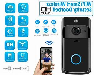 Wireless Wifi Doorbell Smart Video Phone Door Visual