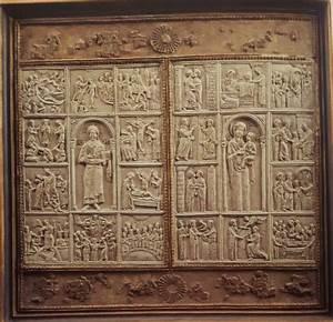 Due Pannelli Con Scene Della Vita Di Cristo E Maria  Xiv
