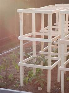 18 Diy Tomato Cage And Stake Ideas