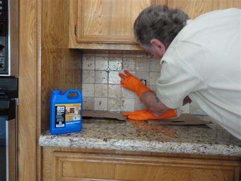 how to seal a tile backsplash using miracle 511