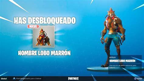 skin nivel  hombre lobo desbloqueado fortnite battle