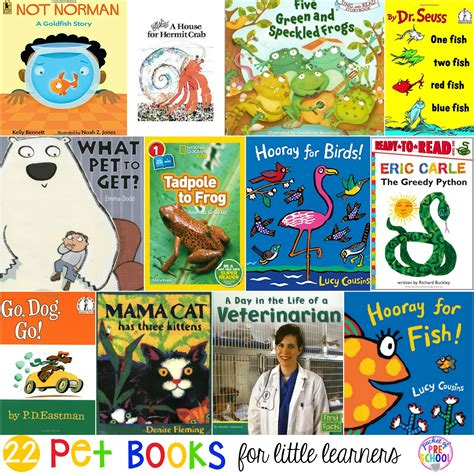 pet books for learners pocket of preschool 189 | Pets Books Cover edited