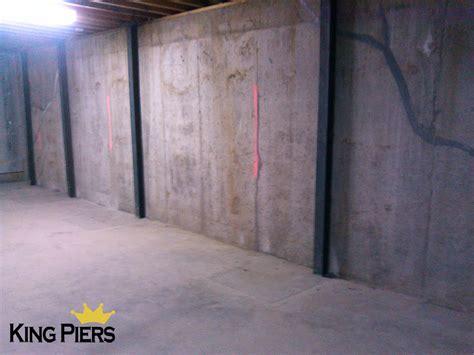 Repairing Basement Wall Cracksking Piers Foundation Repair