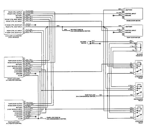 95 Chevy Silverado Heater Wiring by Does Anyone The Wiring Diagram For The Ac Heater
