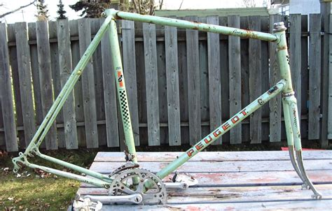 Peugeot Frame by How To Build A Quot Single Speed Quot P Introduction
