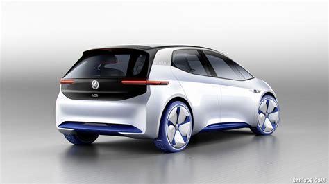 2018 Volkswagen Id Concept Rear Three Quarter Hd