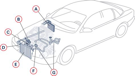 Diagram System Vehicle Cooling by Engine Cooling Service And Repair Level Auto