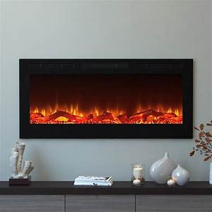 moda flame cynergy 50 in log electric recessed built in With 3 benefits of choosing modern electric fireplace
