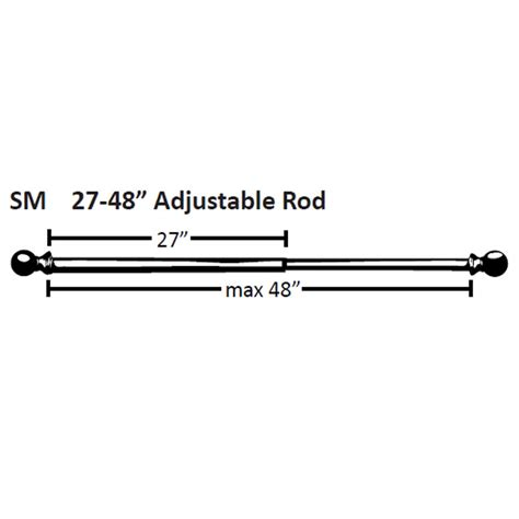 drapery small adjustable drapery rod small