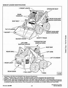 Bobcat 873 Skid Steer Loader Service Repair Workshop Manual 514115001