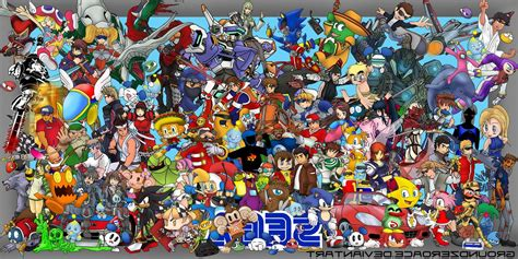 Anime Crossover Wallpaper Hd - sega crossover wallpapers hd desktop and