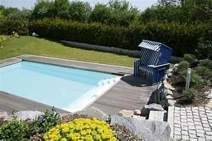 Kleiner Garten Mit Pool : inspiration f r die gartengestaltung mit pool galanet ~ Markanthonyermac.com Haus und Dekorationen