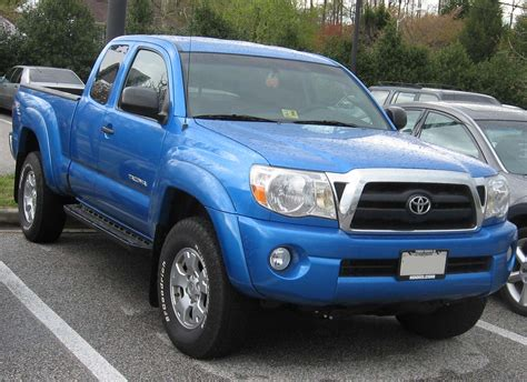 Toyota Tacoma Blue by Toyota Tacoma Review And Photos