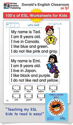 Phonics Worksheets For English Language Learners  Phonics Vowel Digraphs And Worksheets On