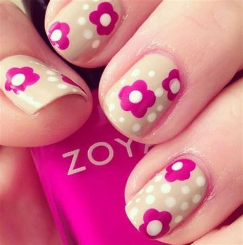 15 Easy u0026 Simple Spring Flower Nail Art DesignsTrends u0026 Ideas 2013 | Girlshue