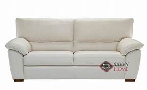 quick ship trento b632 leather sofa in le mans white by With trieste 2 sectional leather sofa