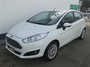 Ford Fiesta Kinetic Titanium Usado  2018  Color Blanco