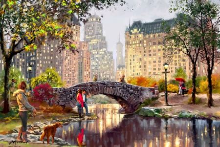 Fall Desktop Backgrounds New York by Autumn In New York Other Abstract Background