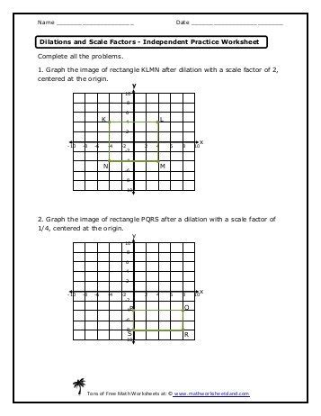 all worksheets 187 scale factor worksheets printable