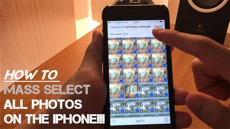 how to select all pictures on iphone how to select all photos on iphone the way