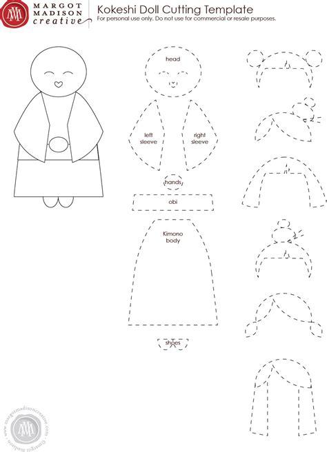 margotmadison  kokeshi dolls    printable