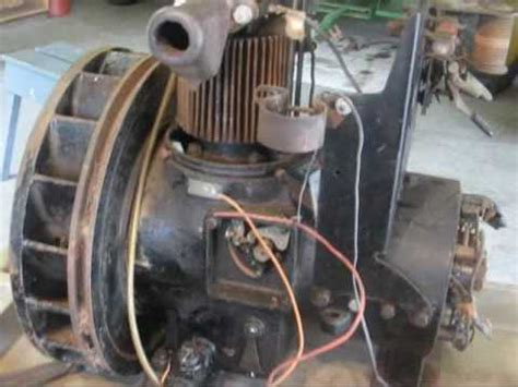 antique delco light plant generator tubalcain youtube