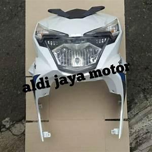 Jual Cover Tameng Dasi Depan Komplit Lampu Honda Beat Eco
